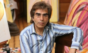 Painter and sculptor Nasser Azam