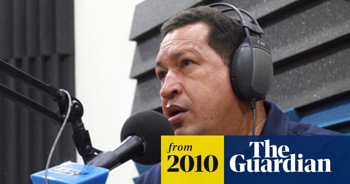 Venezuelan president pounces on listeners with 'Suddenly Chávez