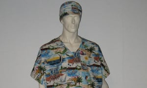 8f243ad53b Don t look back – the hospital gown is getting a makeover. Designer Ben de  Lisi ...
