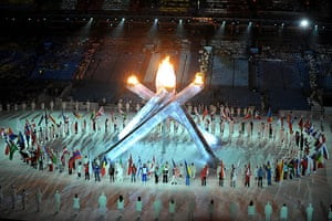 Olympics : 2010 Winter Olympic Games closing ceremony