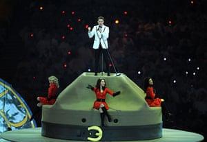 Olympics : Michael Buble