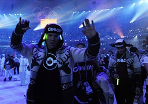 Olympics : Canadian athletes cheer