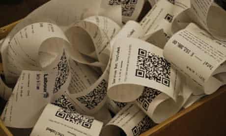 MPs' expsenses in receipt form