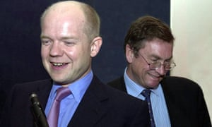 Lord Ashcroft and William Hague
