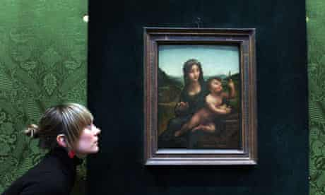 Madonna of the Yarnwinder by Leonardo da Vinci