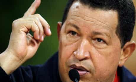 Venezuelan President Chavez
