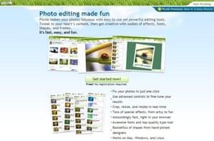 Picnik's home page