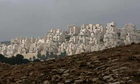 Har Homa settlement in East Jerusalem