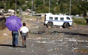 Violence in Pretoria: Protests over poor service delivery by Mamelodi residents turned violent