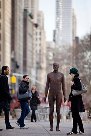 Antony Gormley: Antony Gormley is breaking America with a debut showing of art in Manhattan