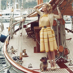 The Grace Kelly look: Grace Kelly look: Cashmere and silk cardigan