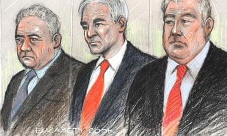 Jim Devine, David Chaytor and Elliot Morley