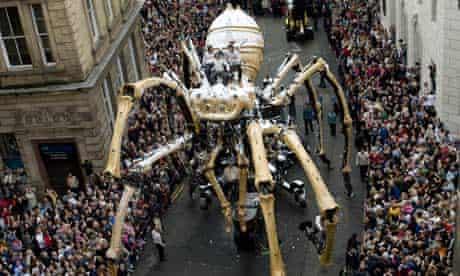 La Princesse spider in Liverpool