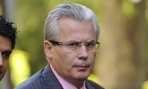Spanish judge Baltasar Garzon leaves Mad