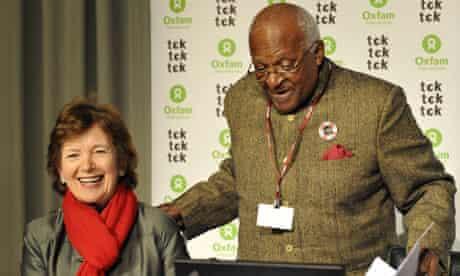 Mary Robinson and Desmond Tutu