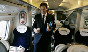 Nick Clegg on  at