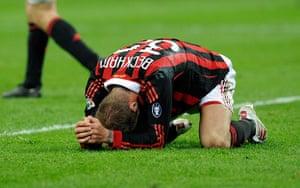David Beckham's career: AC Milan v AC Chievo Verona - Serie A