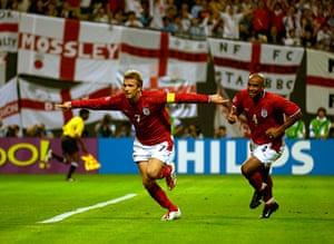 David Beckham's career: Soccer - FIFA World Cup 2002 - Group F - Argentina v England