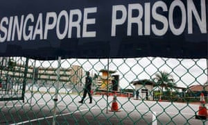 Changi prison, where Singapore's death row prisoners are held