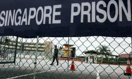 Changi prison, where Singapore's death row prisoners are held