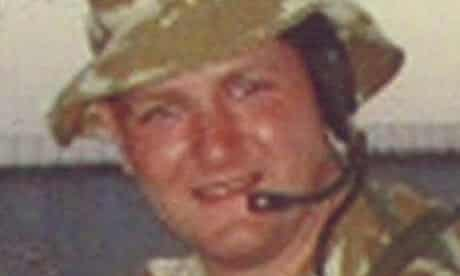 Private Jason Smith, who died of heatstroke in Iraq