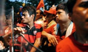 Red shirts thailand