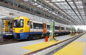 London: new trains for East London Line