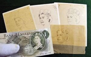 bank exhibition: Bank of England banknote exhibition