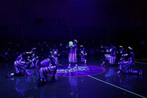 24 hours in pictures: Harlem Globetrotters perform at MaST Community Charter School, Philadelphia