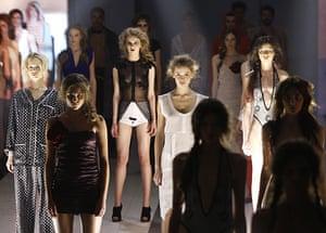 24 hours in pictures: Models during Ukrainian Fashion Week in Kiev