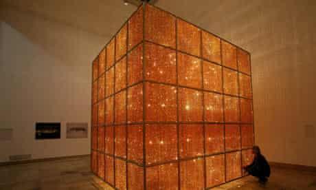 Ai WeiWei's Cube Light.