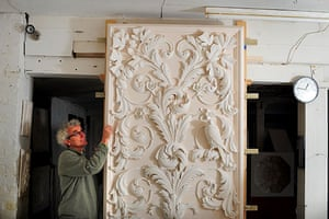 Disappearing Acts: Geoffrey Preston, a decorative plasterer based in Exeter