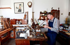 Disappearing Acts: Violin bow maker and violin repairer Matthew Coltman