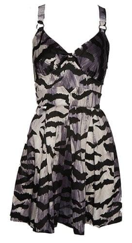 Key Trends: animal: tiger print dress