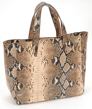Key Trends: animal: snakeskin shopper
