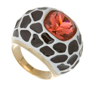 Key Trends: animal: animal print and crystal ring