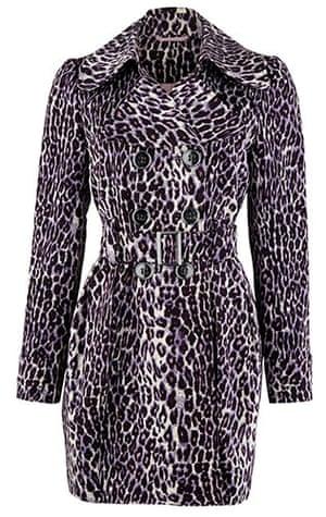 Key Trends: animal: animal print coat