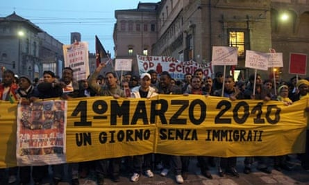 1 March immigrants strike