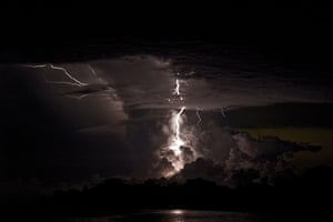 Venezuela lightning: The spectacle lasts up to nine hours a night