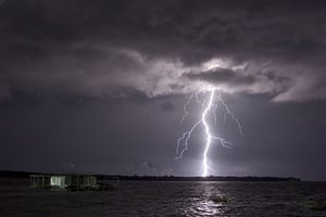 Venezuela lightning: Darkness never lasted long in the skies over Lake Maracaibo