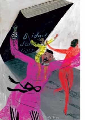 Bridget Jones illustration