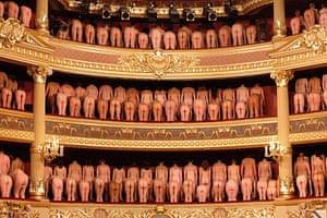 Spencer Tunick: Stadschouwburg Theatre, Bruges