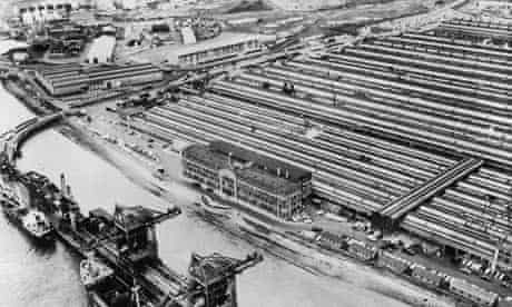 Ford Works At Dagenham