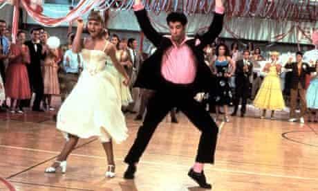 The prom scene in Grease