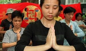 Falun Gong members