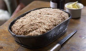Homemade brown bread. Photograph: Peter Cassidy/Kyle Cathie