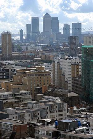 postively public housing: london skyline