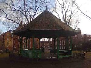postively public housing: bandstand