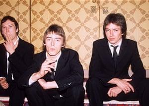 Paul Weller Timeline: Portrait of Rick Butler, Paul Weller and Bruce Foxton in 1979