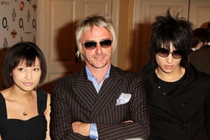 Paul Weller Timeline: Musician Paul Weller and his children Leah and Nat